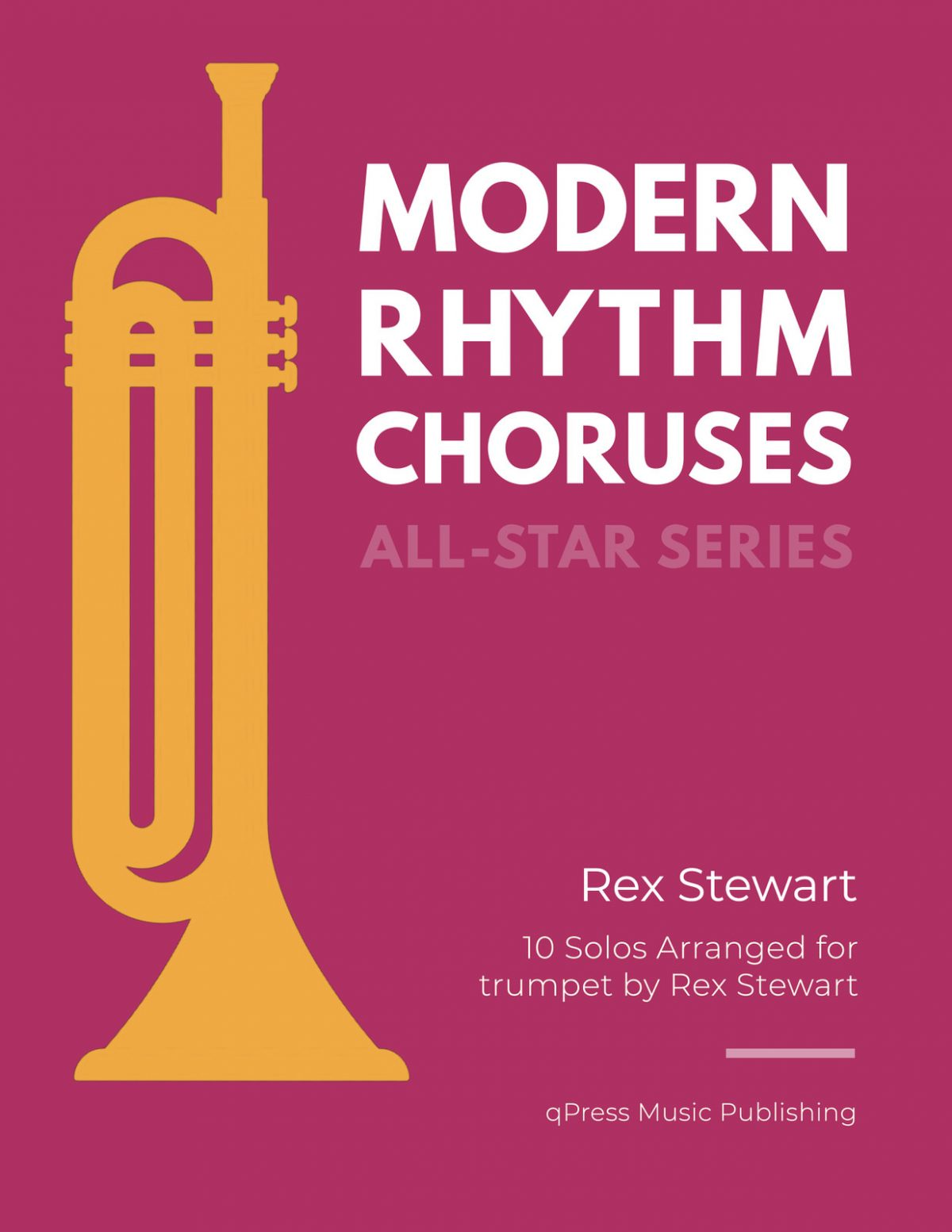 Stewart Rex, All Star Series Modern Rhythm Choruses for Trumpet-p01