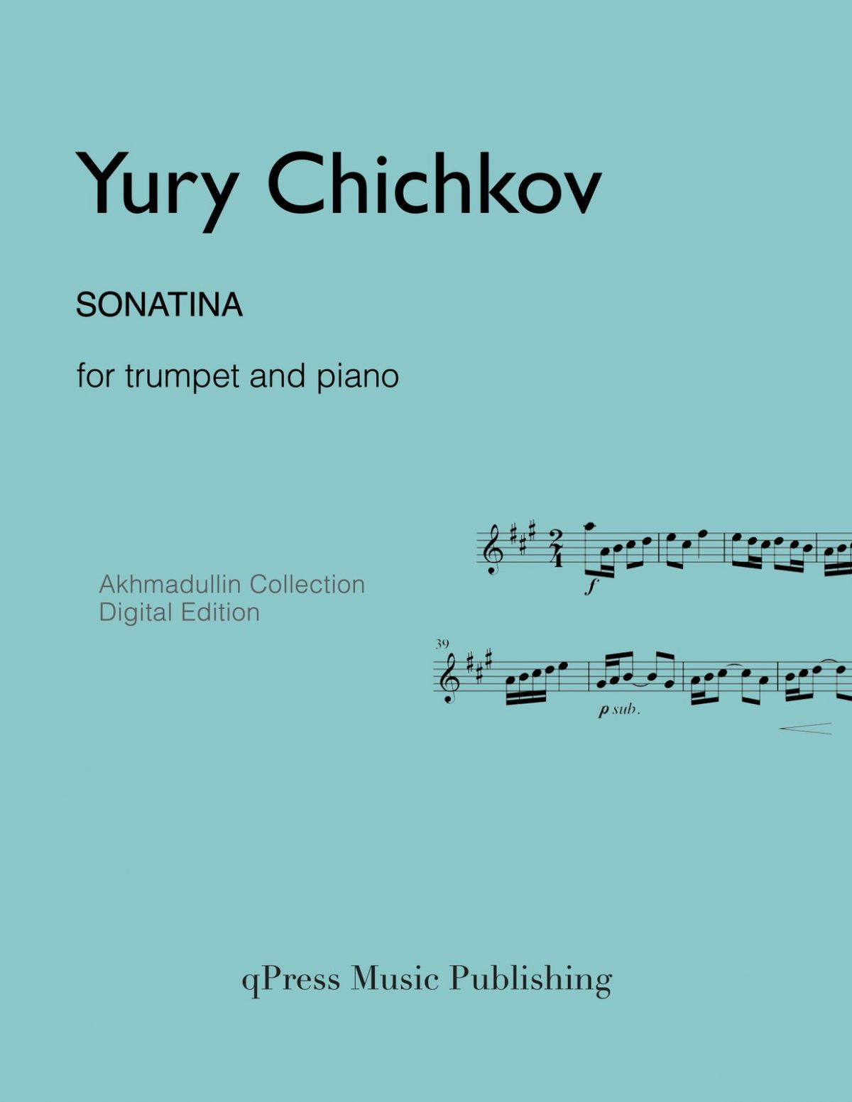 Chichkov, Sonatina (Score and Part)-p01