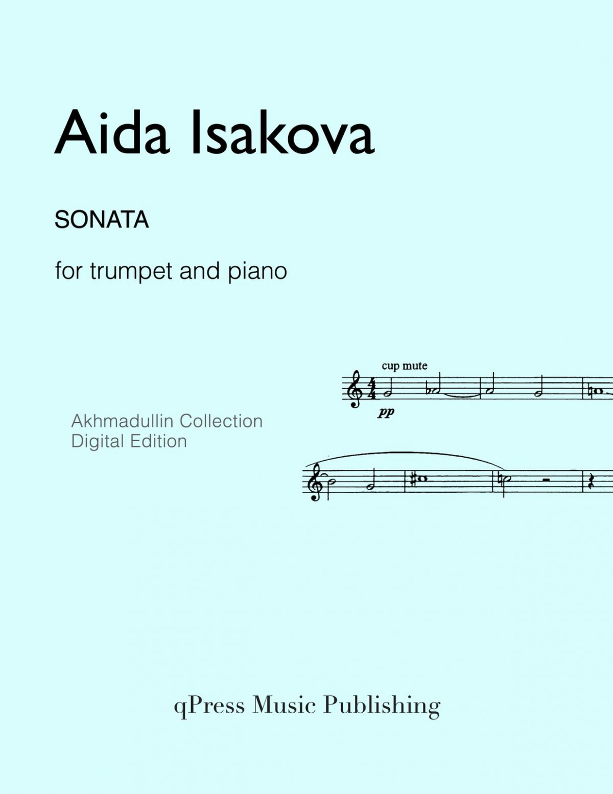 Isakova, Sonata (Score and Part)-p01