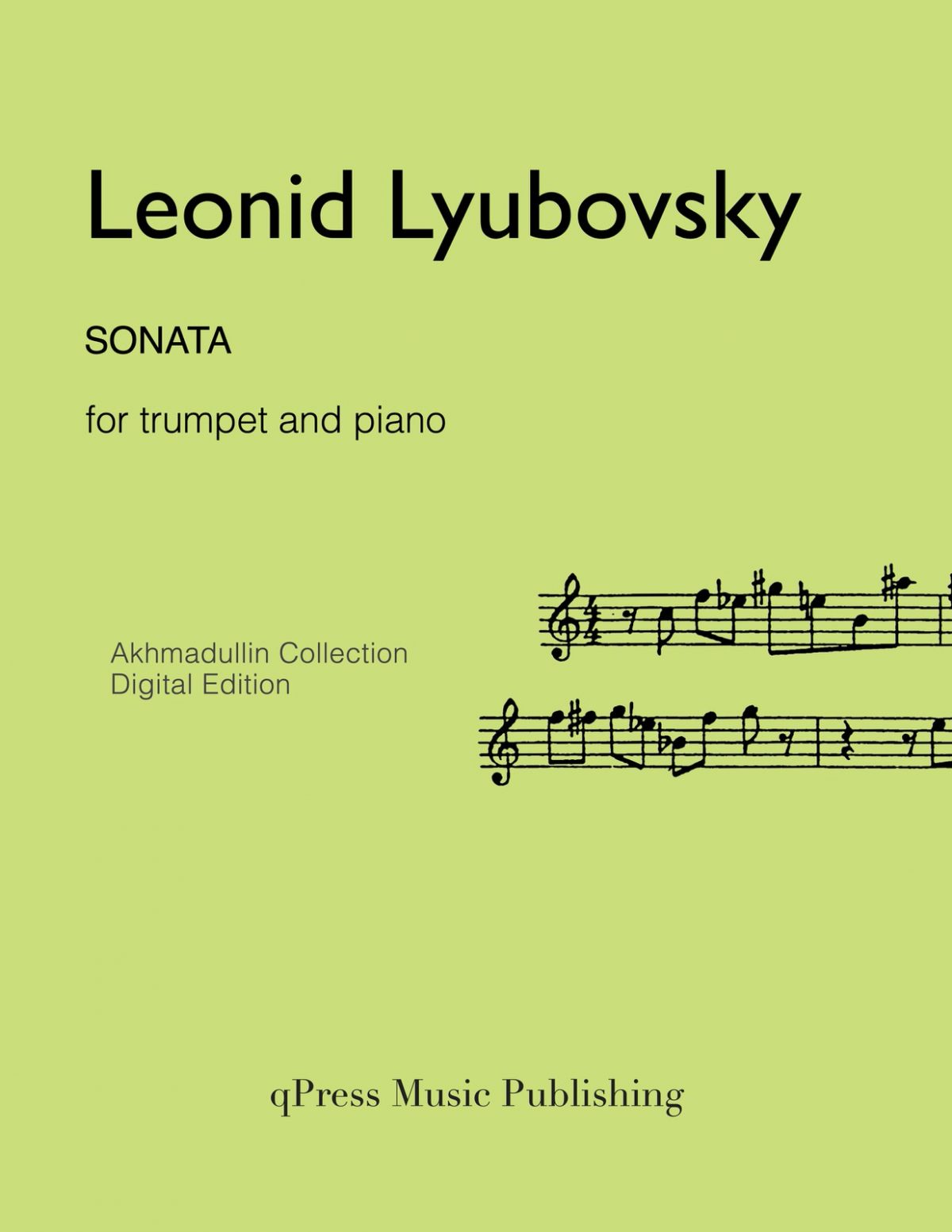 Lyubovsky, Sonata (Score and Part)-p01