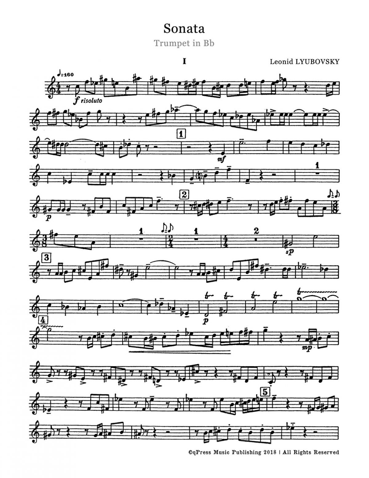 Lyubovsky, Sonata (Score and Part)-p03