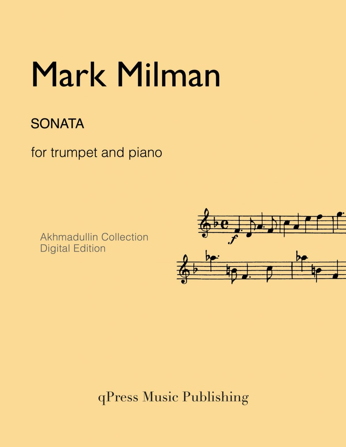 Milman, Sonata (Score and Part)-p01