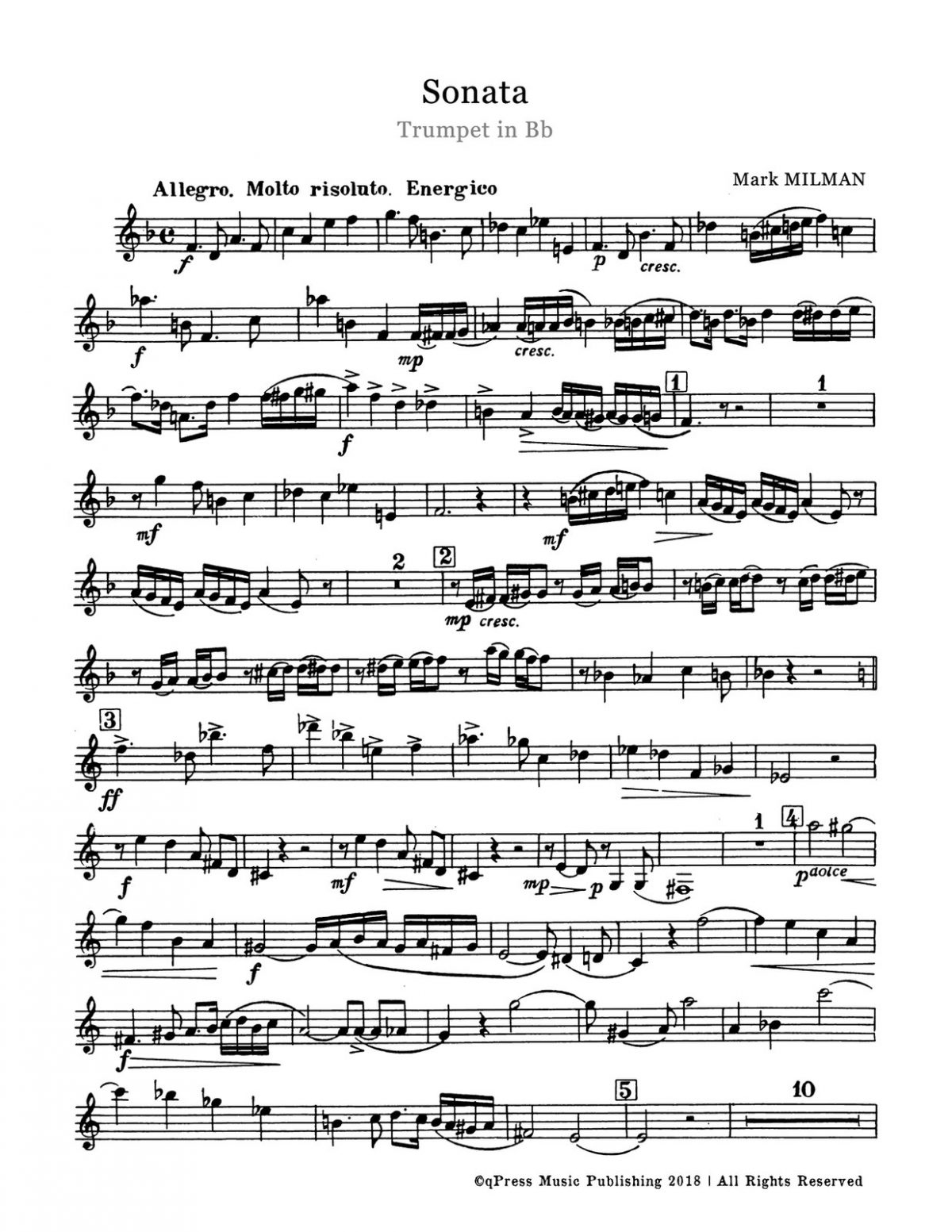 Milman, Sonata (Score and Part)-p03