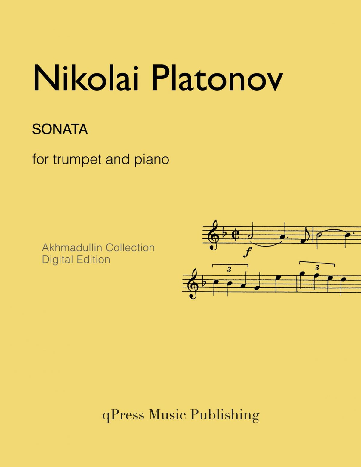 Platonov, Sonata (Score and Part)-p01