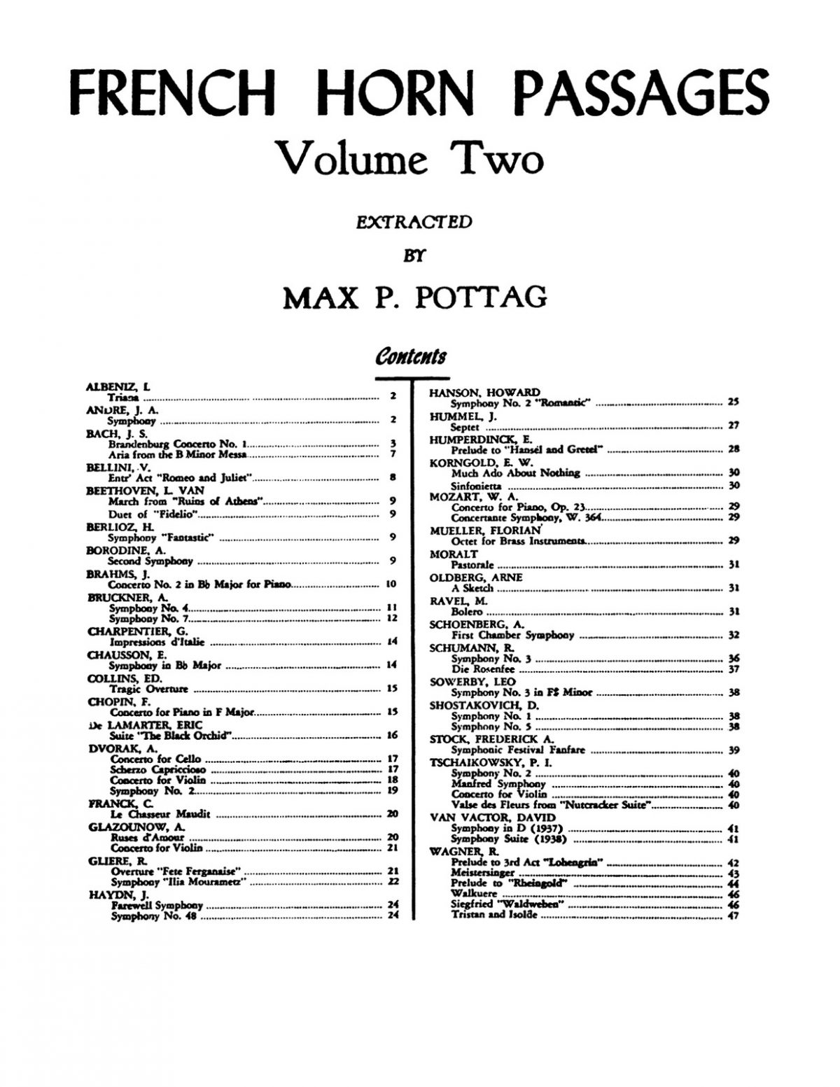 Pottag, French Horn Passages Vol 2-p03