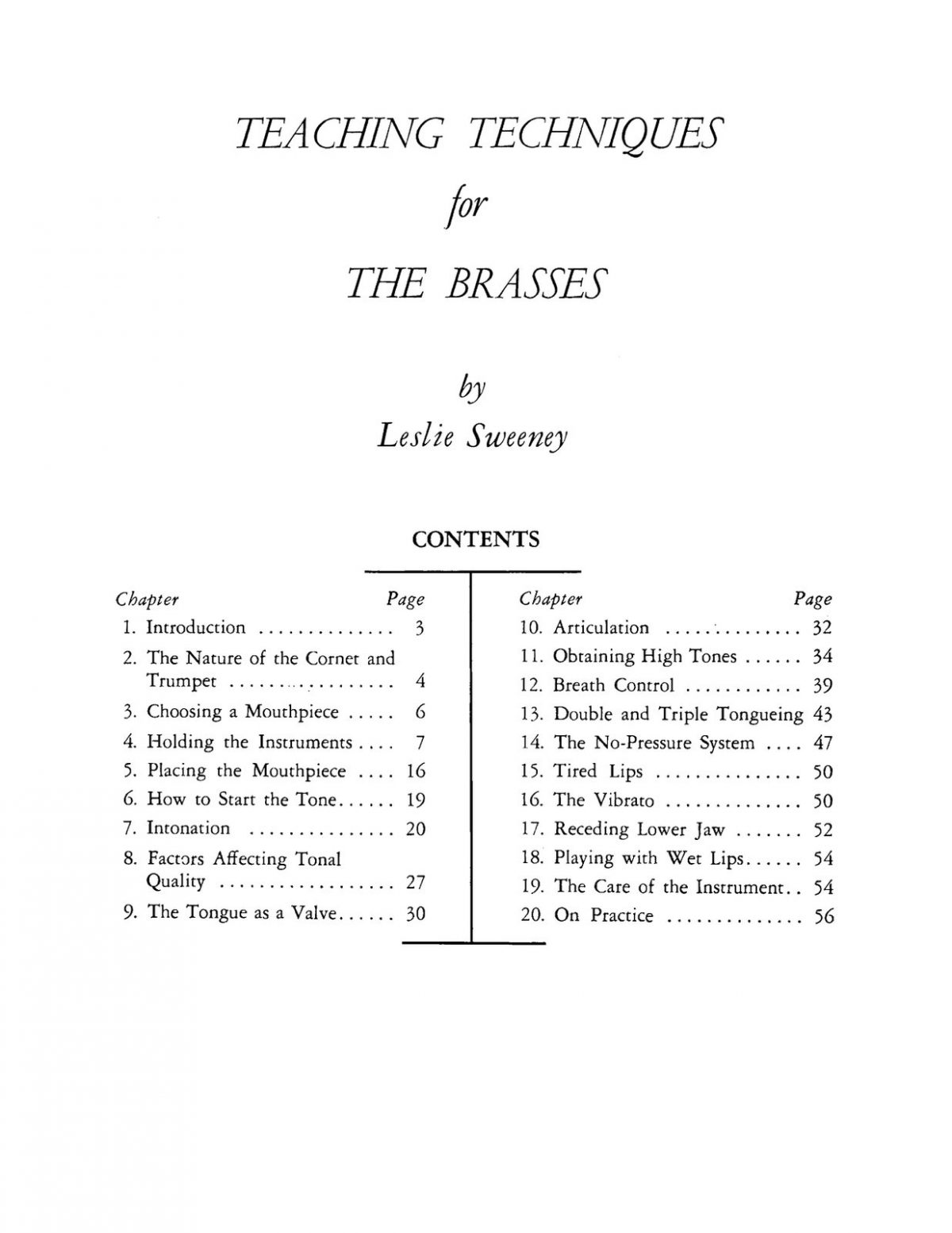 Sweeney, Teaching Techniques for The Brasses-p03