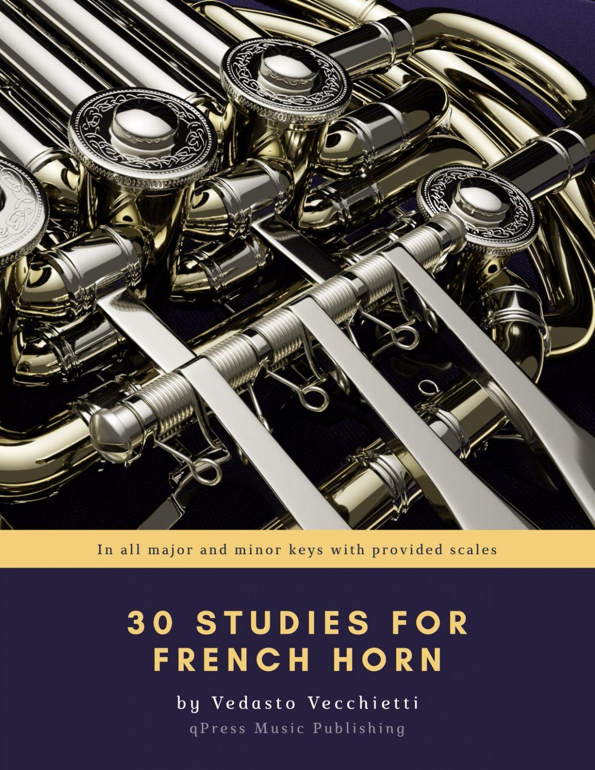 Vecchietti, 30 Studies for Horn-p01
