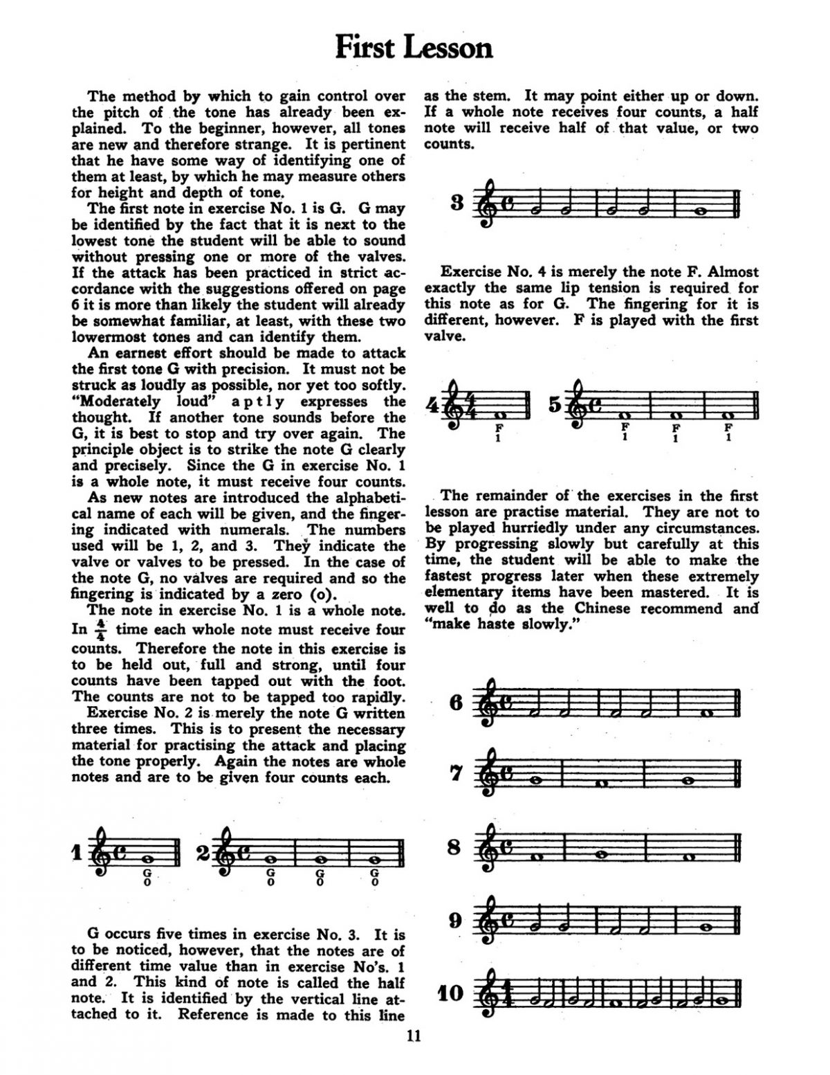 Webster, The Selmer elementary trumpet instructor-p13
