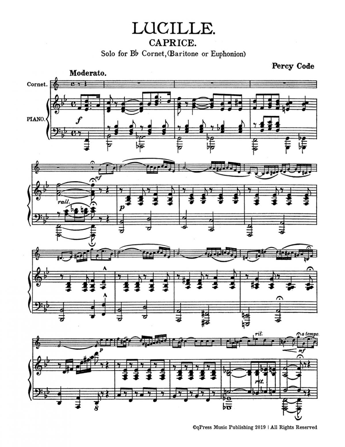 Code, Lucille for Bb Trumpet and Piano-p05