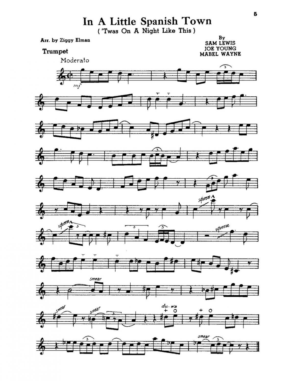 Elman, All Star Series Modern Rhythm Choruses for Trumpet-p07