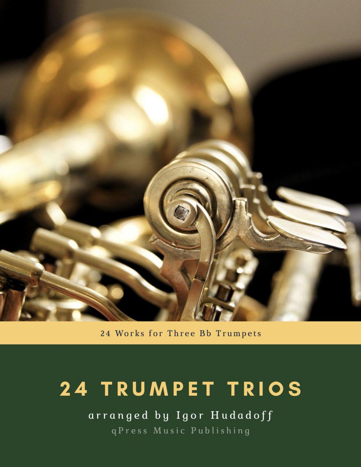 Hudadoff, 24 Trumpet Trios-p01