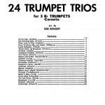 Hudadoff, 24 Trumpet Trios-p03