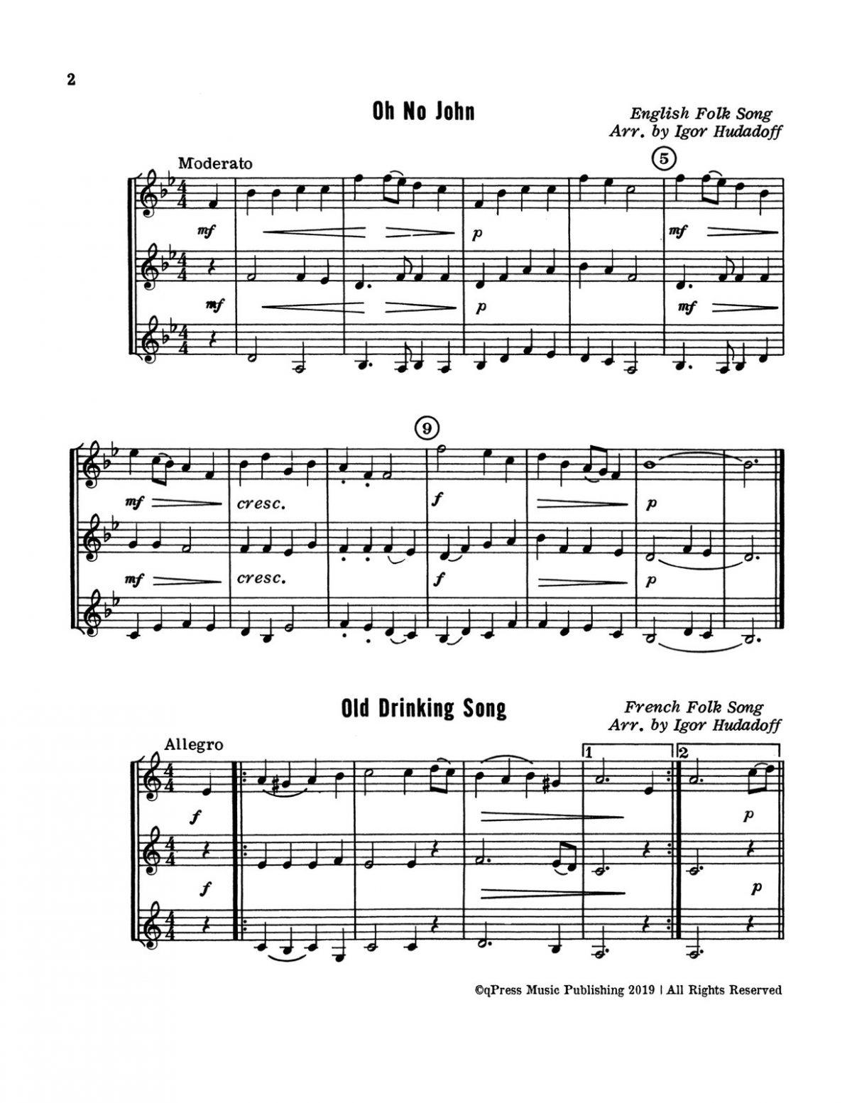 Hudadoff, 24 Trumpet Trios-p04