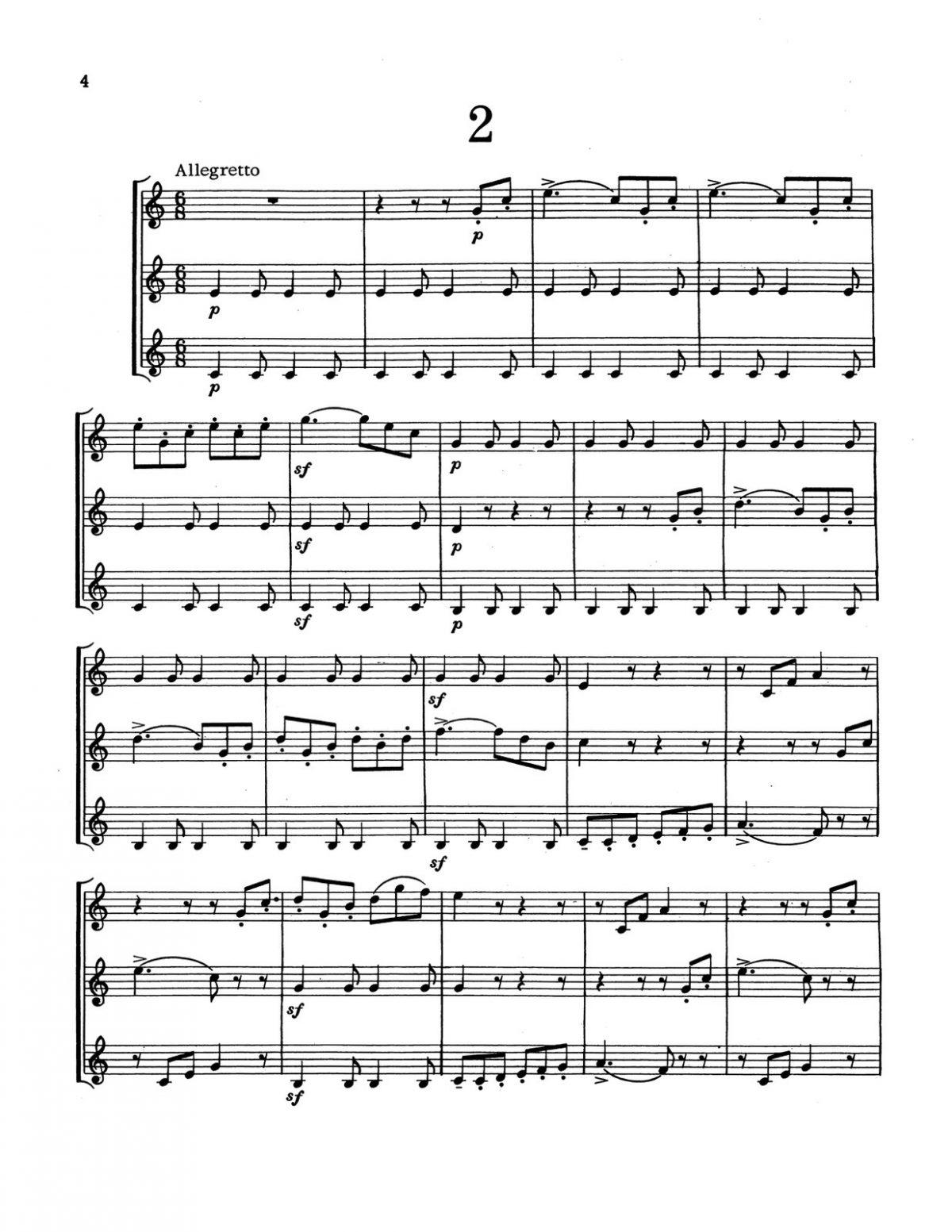 Kresser, 6 Short Concert Trios-p06