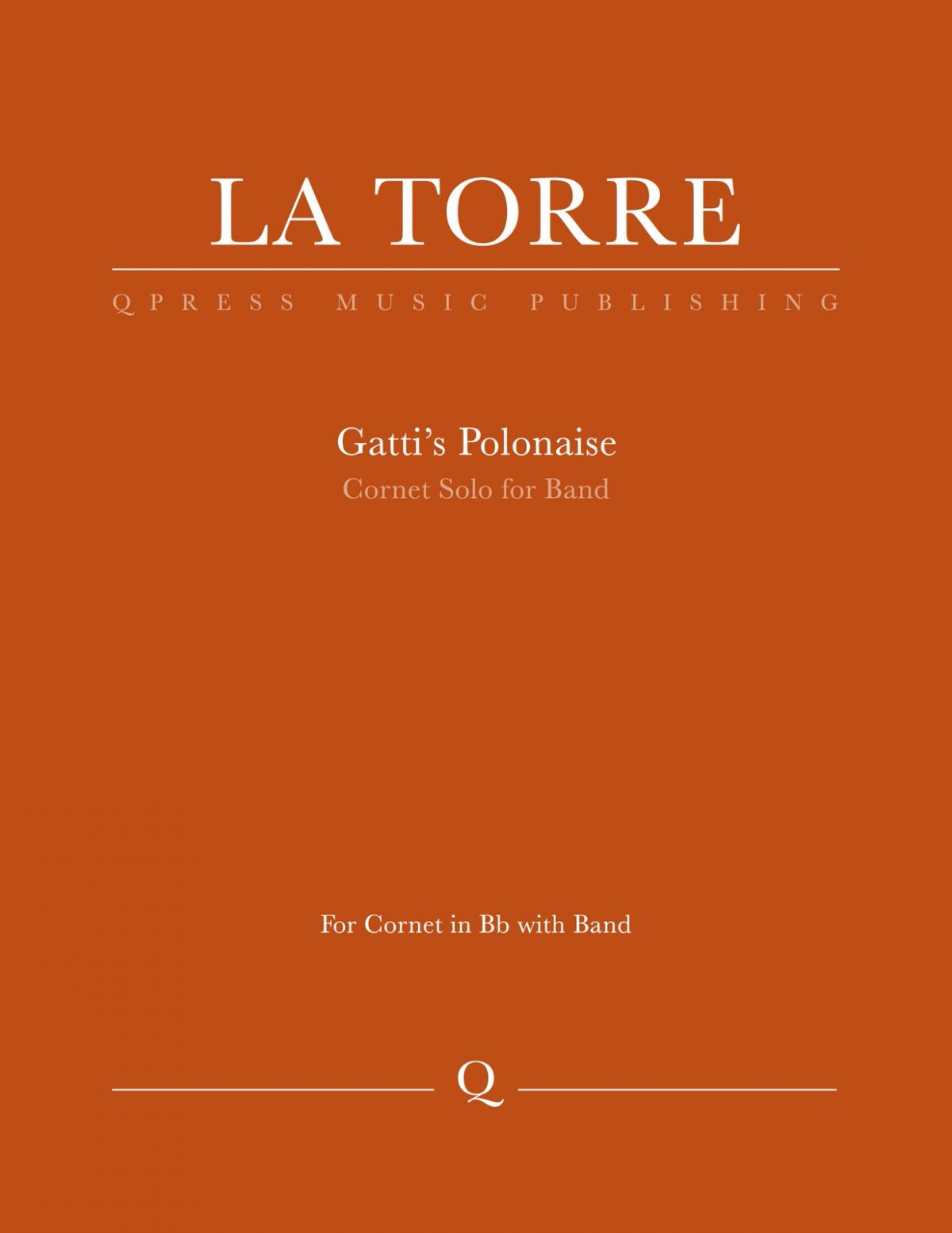 LaTorre-Gatti, Polonaise for Trumpet and band-p01