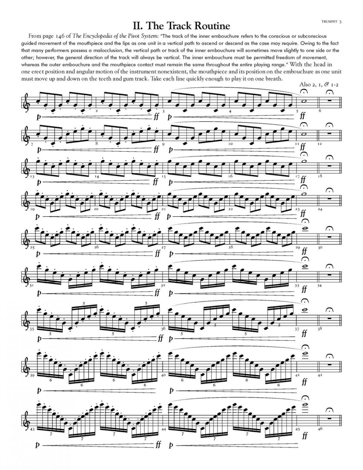 Reinhardt, 10 Test Drills for Trumpet-p05