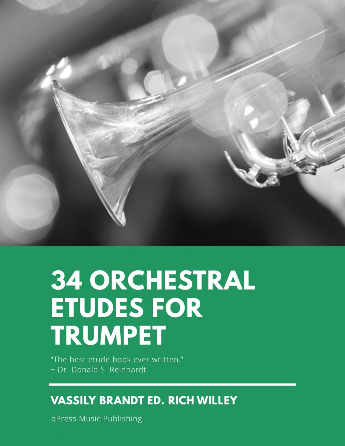 Brandt, 34 Orchestral Etudes for Trumpet-p01