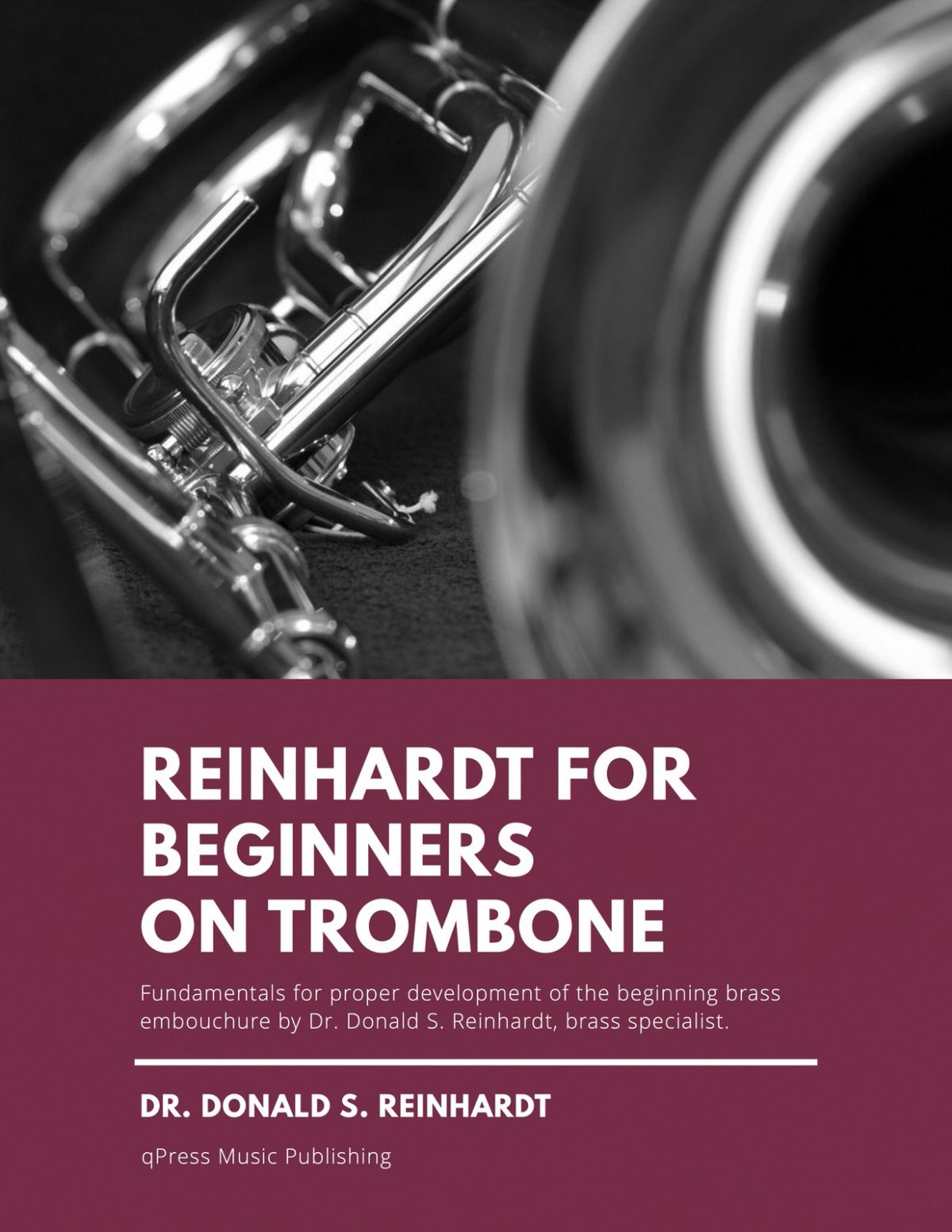 Reinhardt, Reinhardt for Beginners for Trombone, Euphonium or baritone in Bass clef-p01