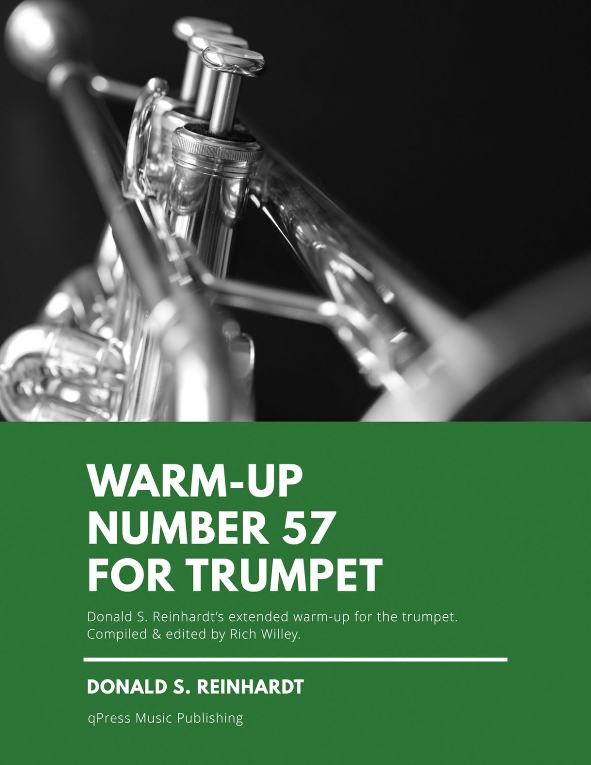 Reinhardt, Warm-Up Number 57 for Trumpet-p1