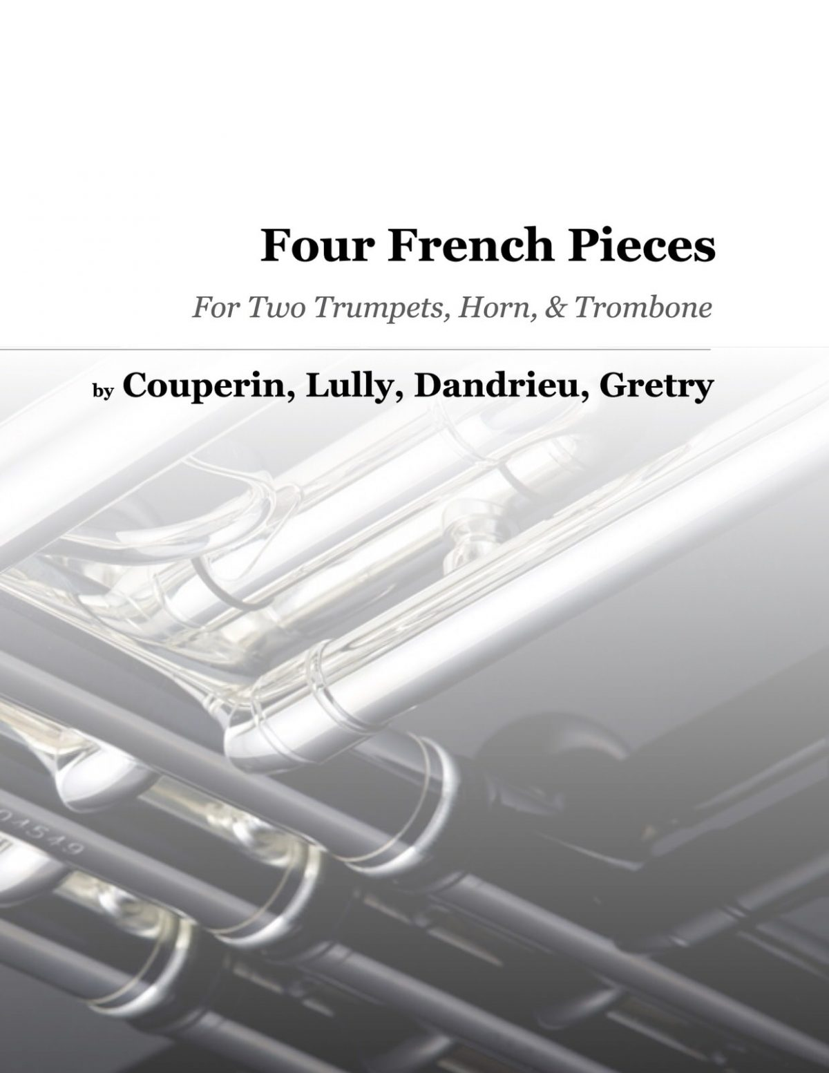 Various, Four French Pieces for Brass Quartet-p01