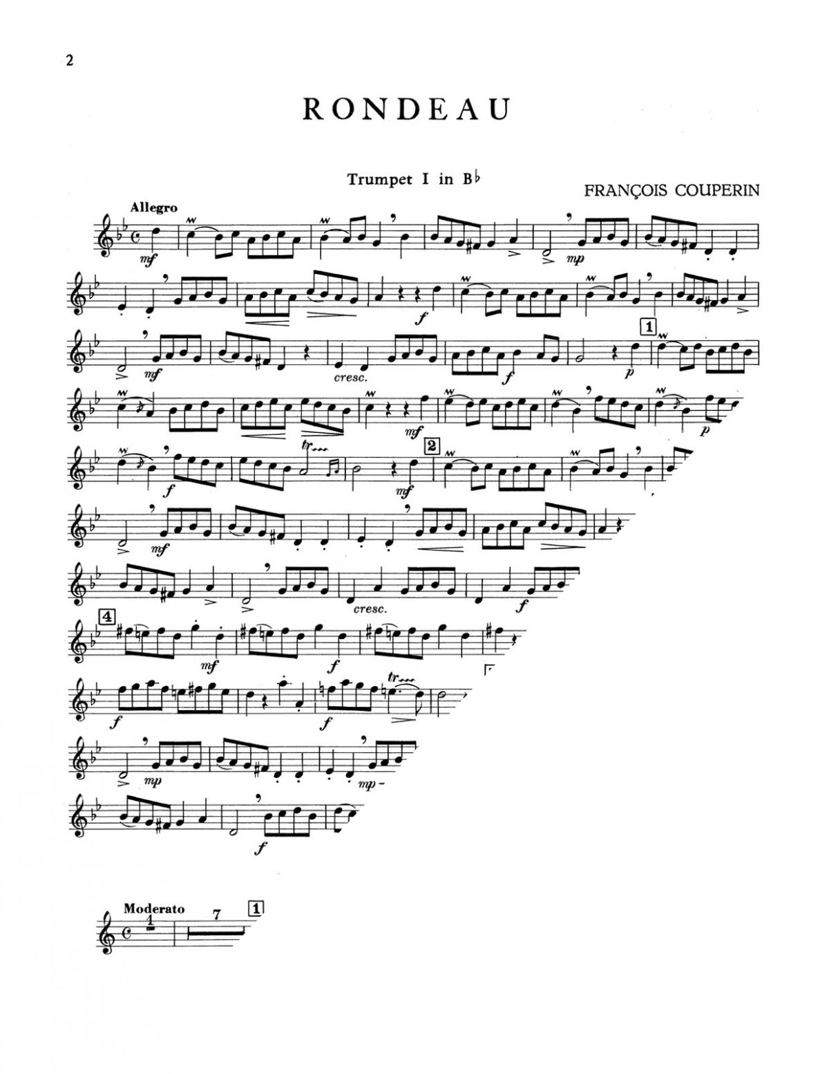 Various, Four French Pieces for Brass Quartet-p12