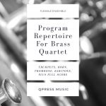 Various, Program Repertoire for Brass Quartet (Score & Parts)-p001