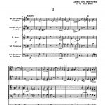 Various, Program Repertoire for Brass Quartet (Score & Parts)-p004