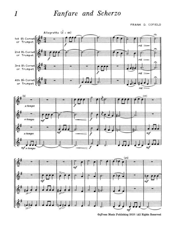 Quartet Repertoire for Trumpet