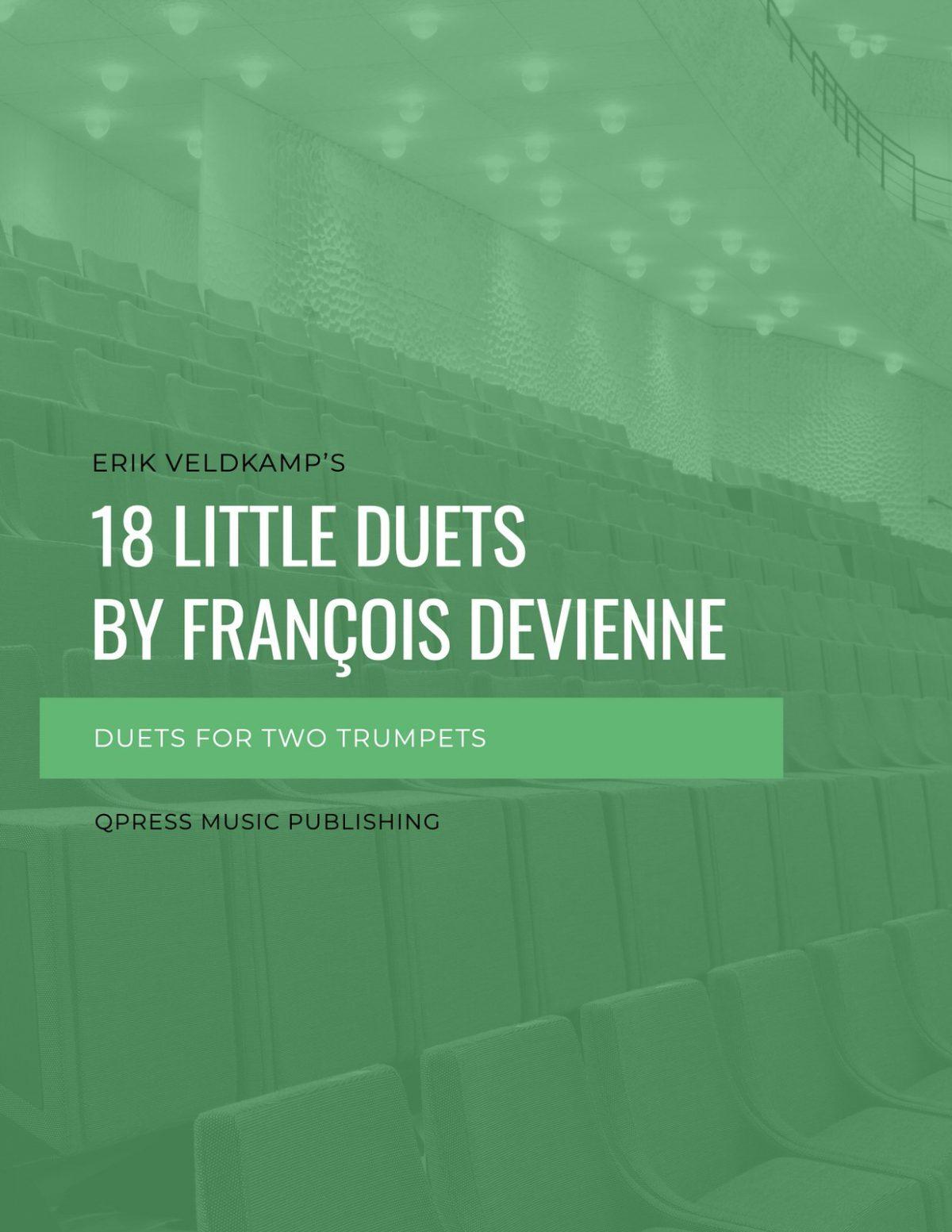Veldkamp-Devienne, 18 Little Duets (for 2 trumpets)-p01