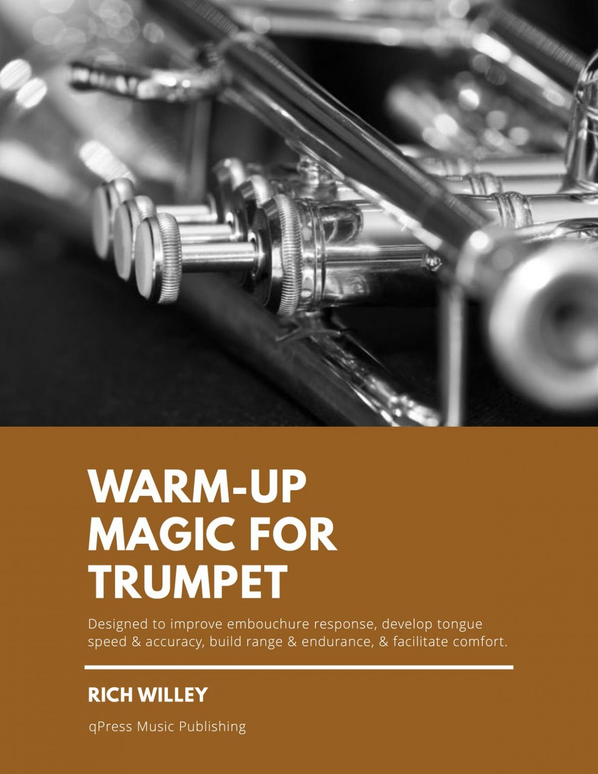 Willey, Warm-Up Magic, Beginning of Your Playing Day Warm-Ups for Trumpet-p01