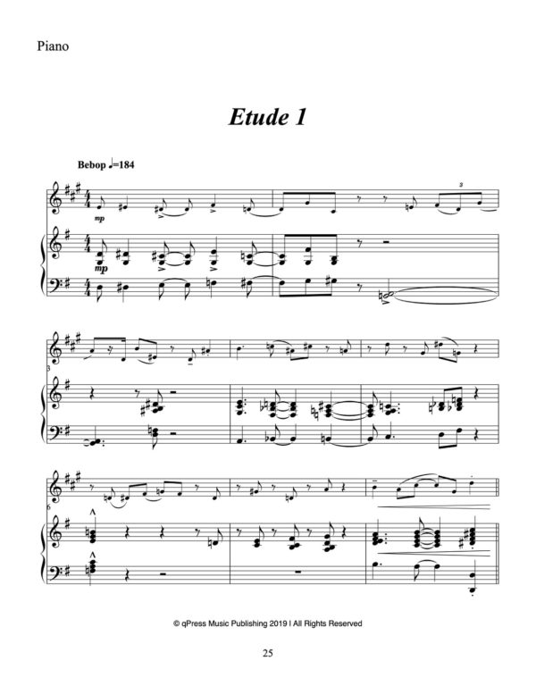 8 Theatrical Studies for Trumpet & Piano (Play Along)