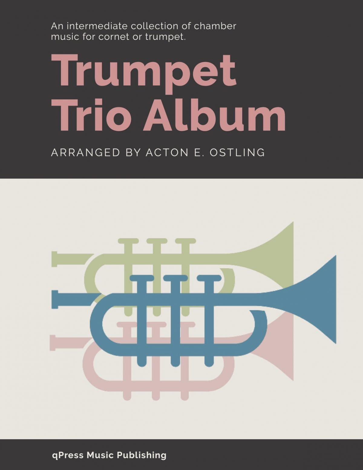 Ostling, Trio Album for 3 Bb Trumpets-p01