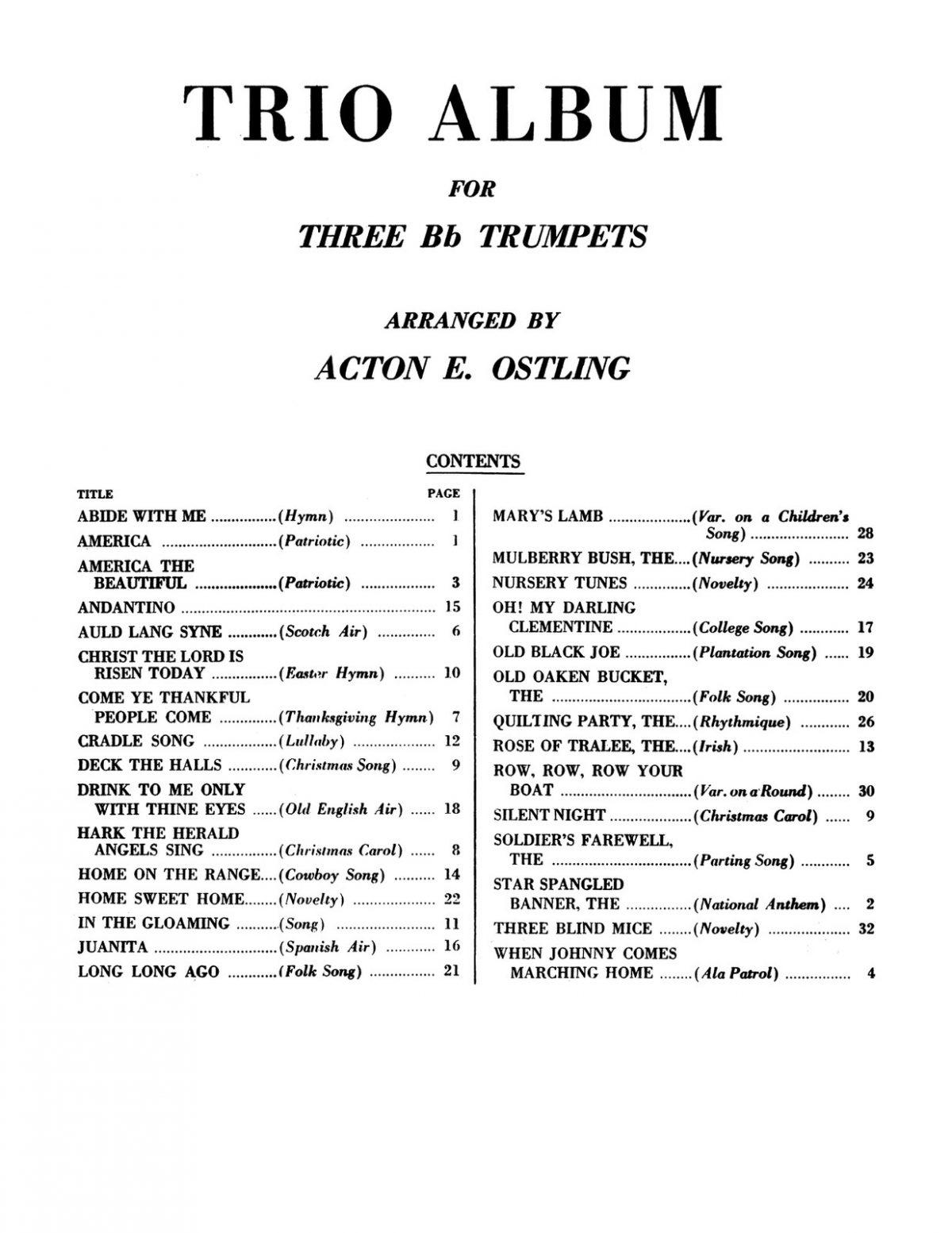 Ostling, Trio Album for 3 Bb Trumpets-p03