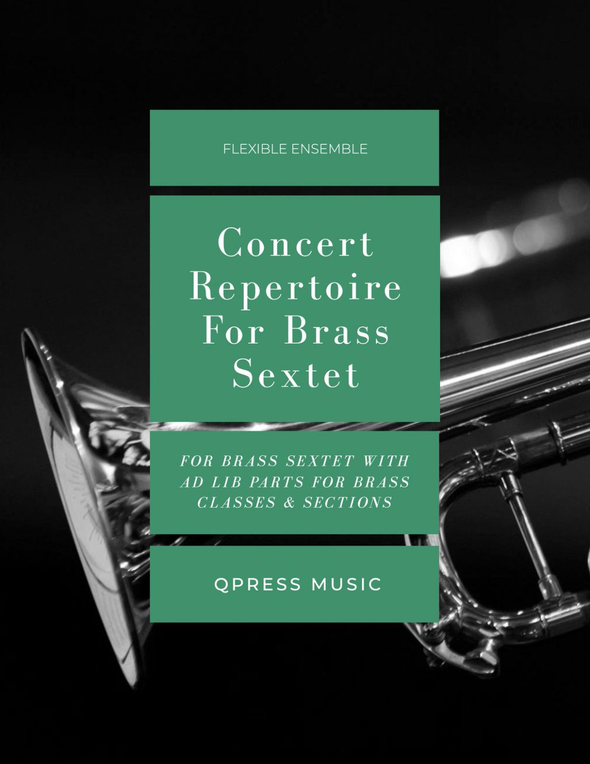 Various, Concert Repertoire for Brass Sextet (Score and Parts)-p001