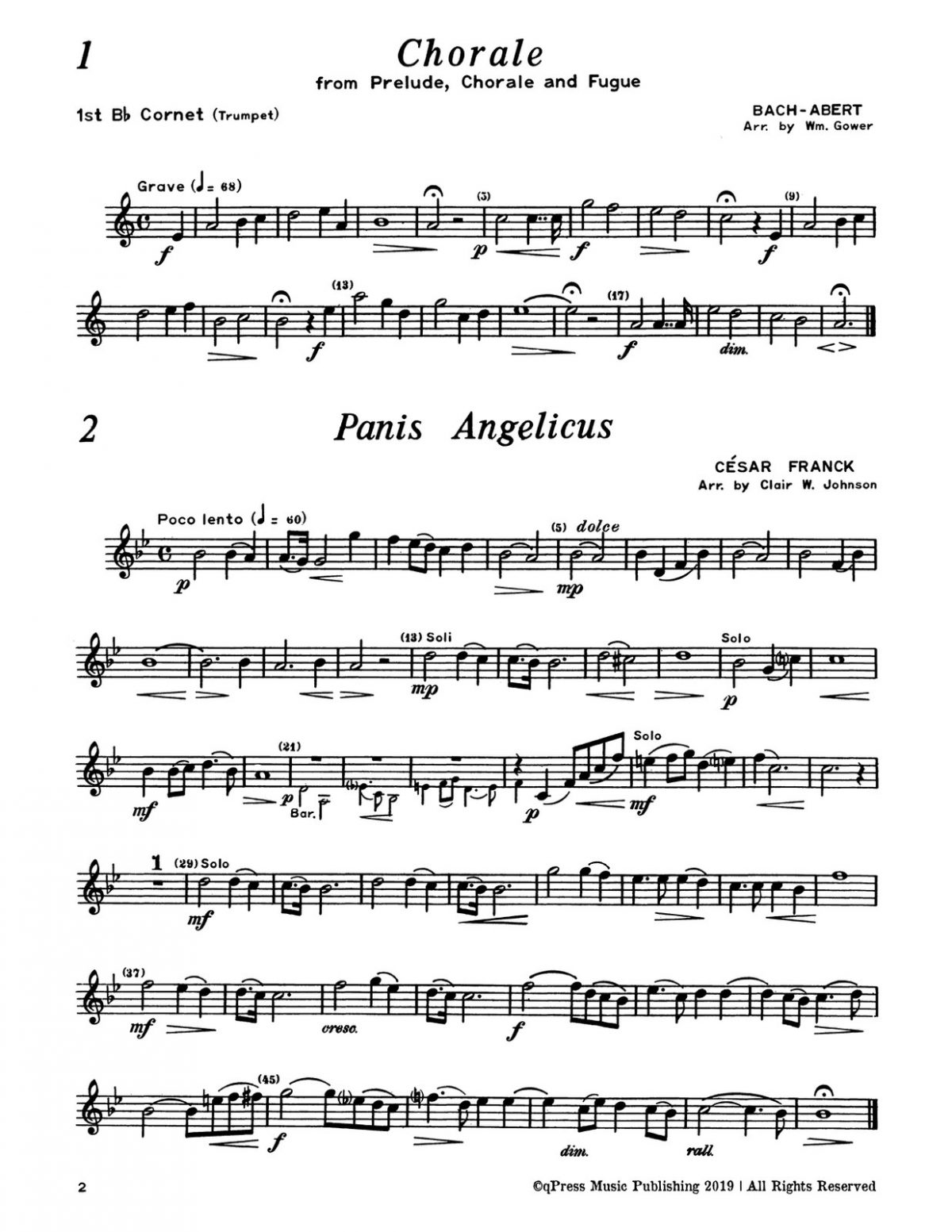 Various, Concert Repertoire for Brass Sextet (Score and Parts)-p092