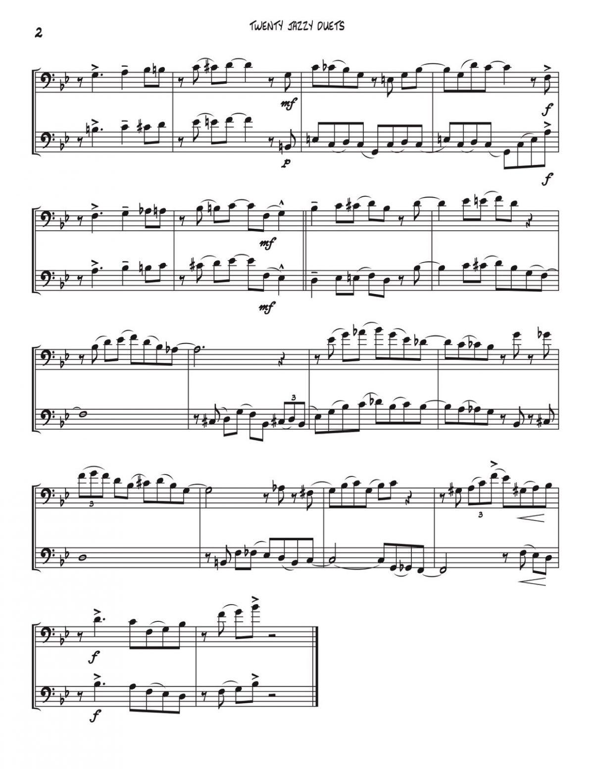 Veldkamp, 20 Jazzy Trombone Duets-p04