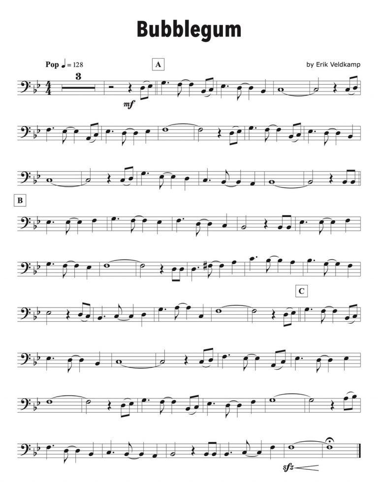 20 Play Alongs in All Styles Level 1 for Trombone (Beginner)