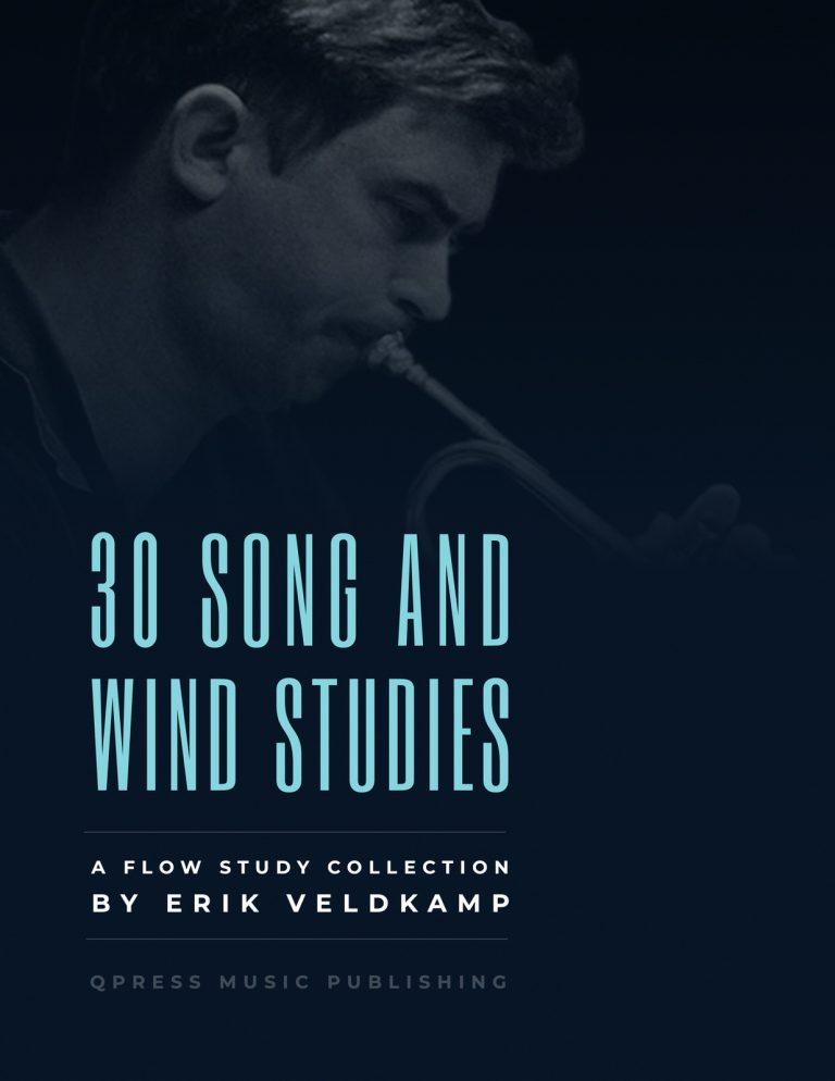 Erik Veldkamp, 30 Song & Wind Studies Book Cover