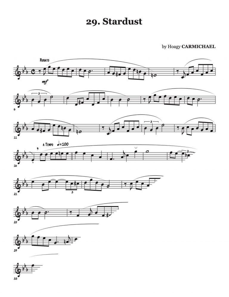 30 Song & Wind Studies (Treble Clef)