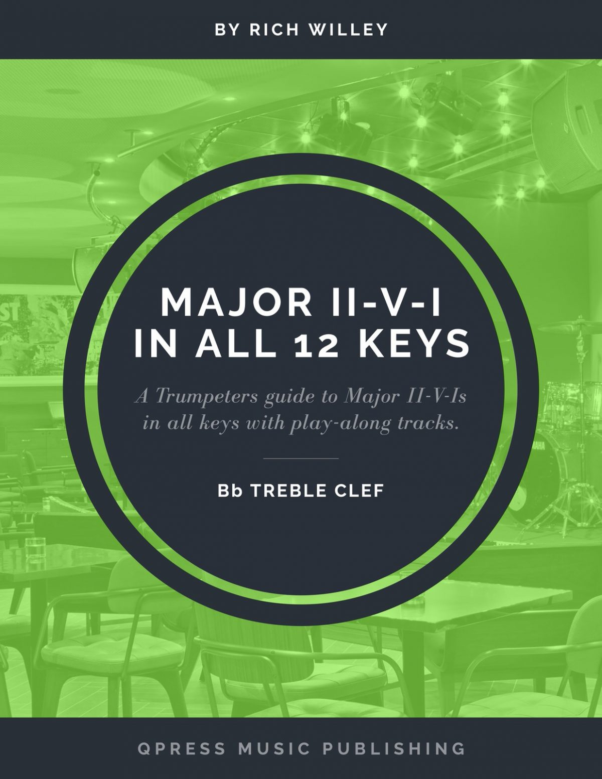 Willey, Major II-V-I in 12 Keys (Treble Clef)-p001
