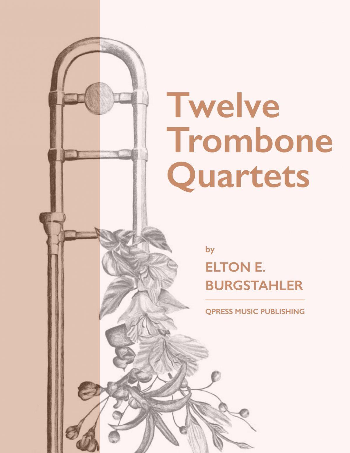 Burgstahler, 12 Trombone Quartets-p01