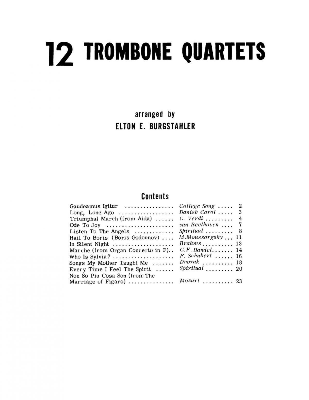 Burgstahler, 12 Trombone Quartets-p03