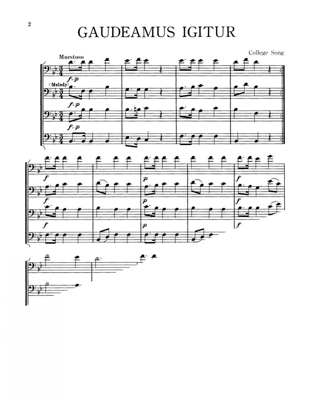 Burgstahler, 12 Trombone Quartets-p04