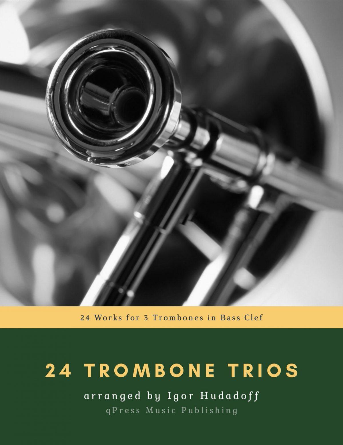 Hudadoff, 24 Trombone Trios-p01