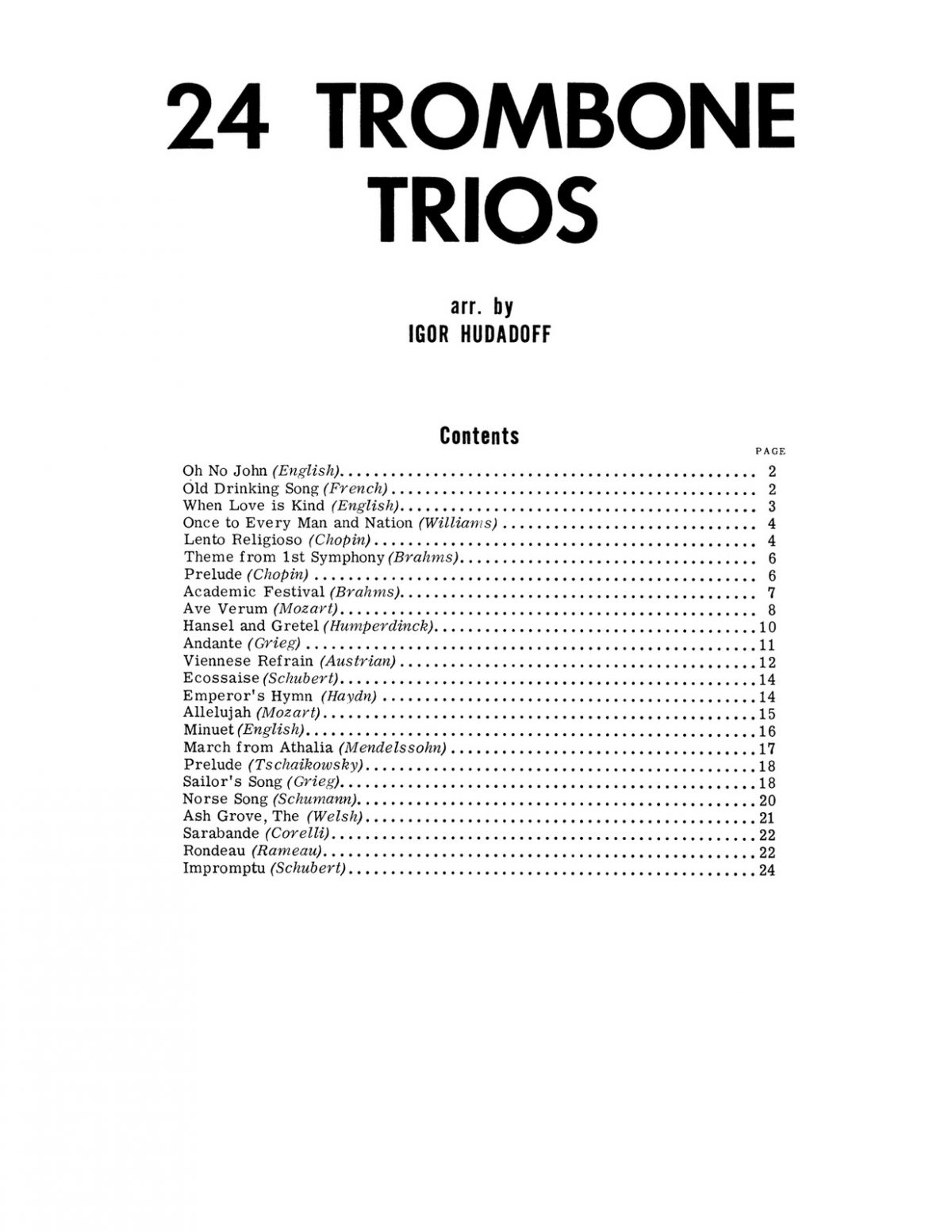 Hudadoff, 24 Trombone Trios-p03