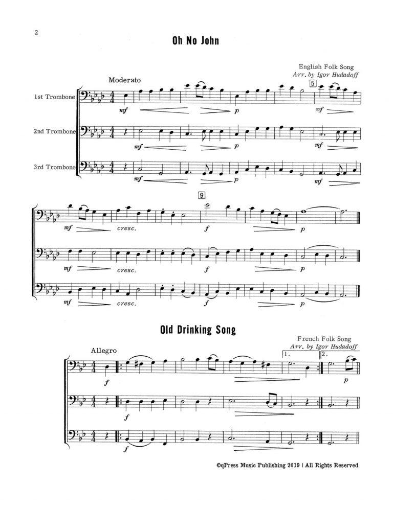 24 Trombone Trios