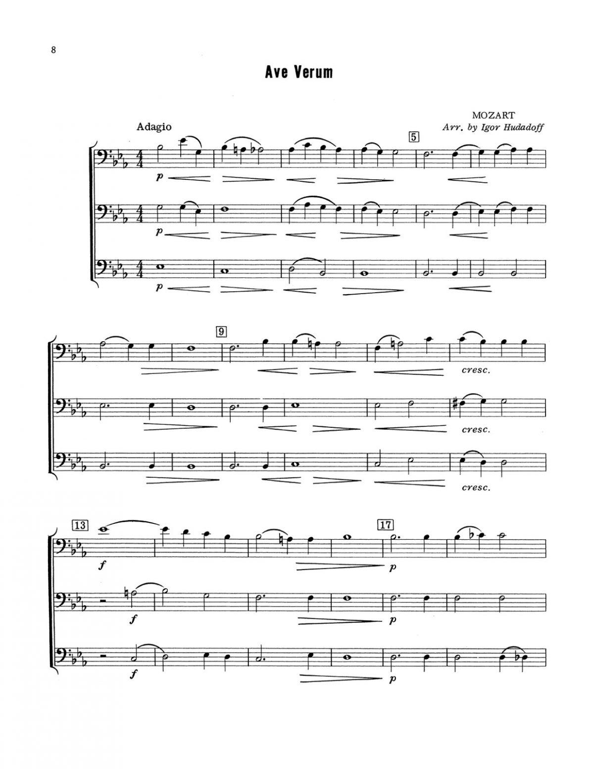 Hudadoff, 24 Trombone Trios-p10