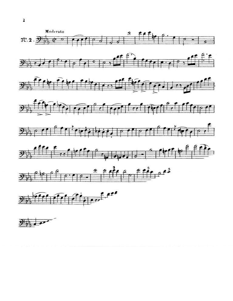 12 Studies for Trombone