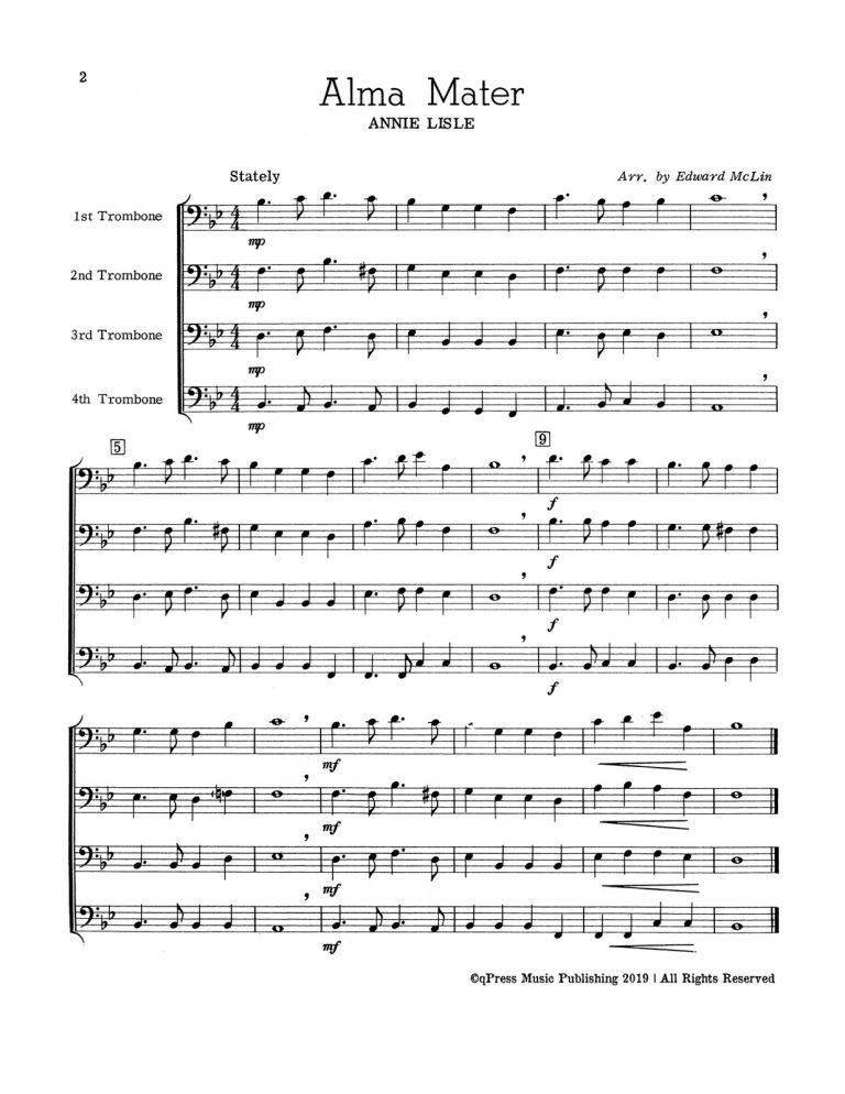 For Four Trombones