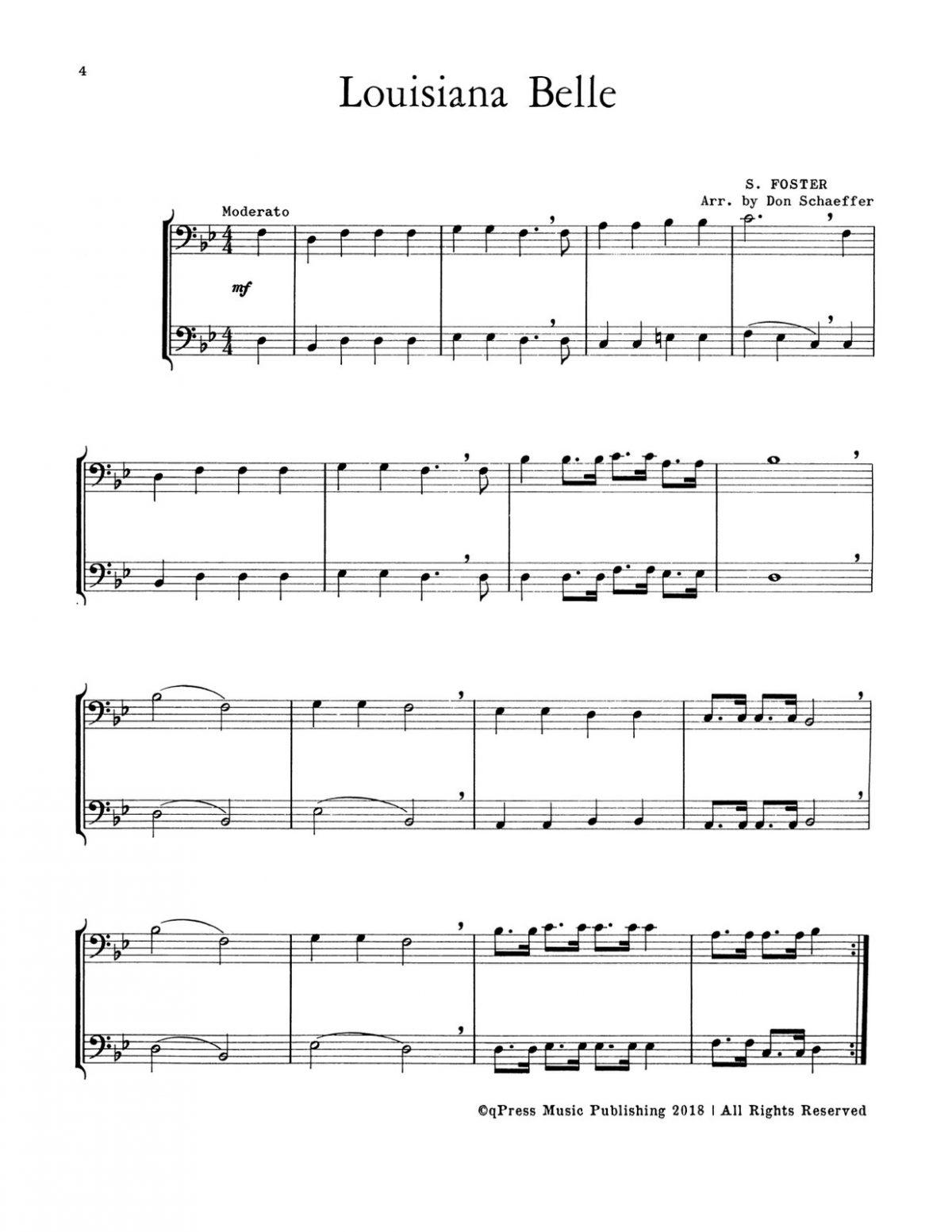 Schaeffer, 21 Rhythmic Duets for Trombone-p06